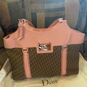 Authentic Christian Dior trotter bag